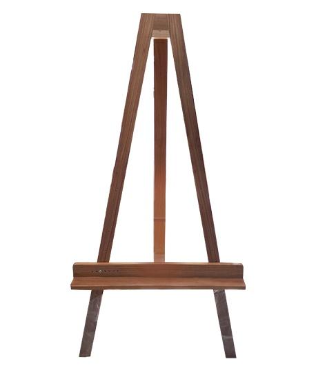 Caballete mediano sencillo en madera de pino atai - Caballetes de madera ...