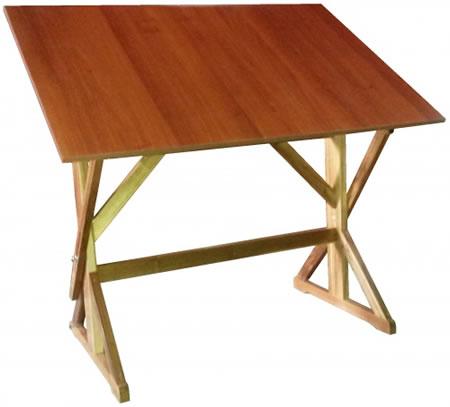 Mesa para dibujo madera de laurel 120 x 80 cm nueva atai - Mesas dibujo tecnico ...